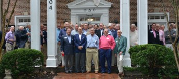 Brothers From '67-'73 Renew the Bond and Dedicate the Phipps Robbins Party Room