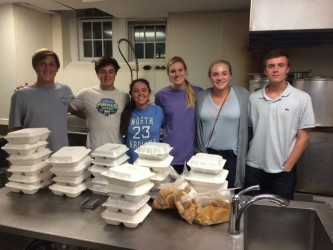 North Carolina Beta Chapter Helps the Homeless, 611 Meals Delivered Last Month!